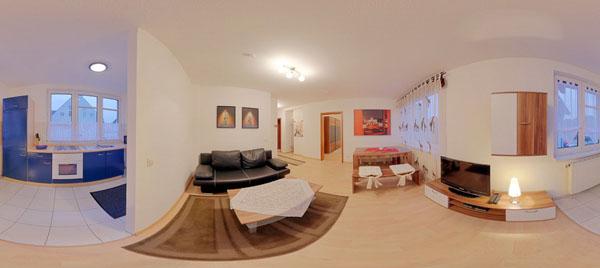 Villa Großziethen Wohnung 2
